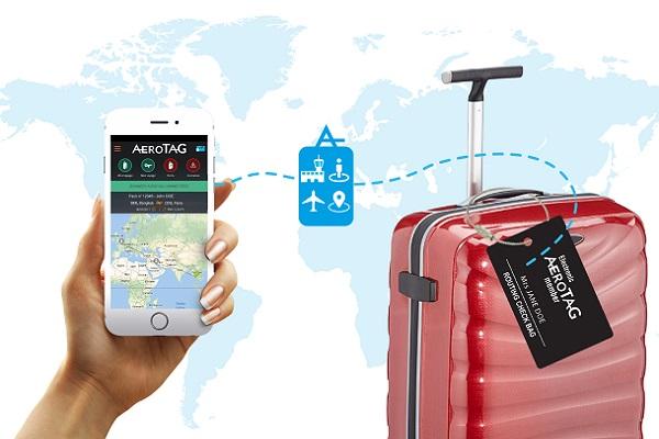 Avec AeroTag, suivez votre bagage depuis votre téléphone