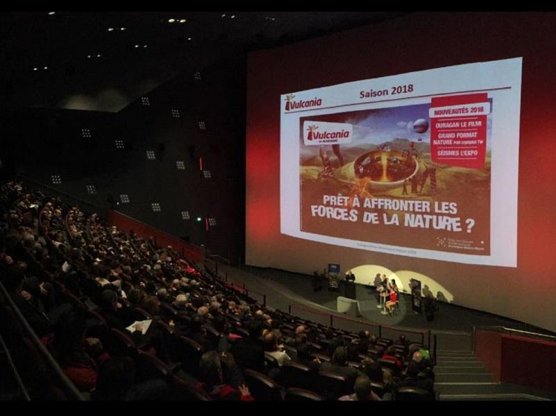 Le 19 mars 2018 a eu lieu la présentation du programme vulcania 2018 - crédit photo Parc Vulcania