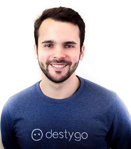 Guillaume Laporte, CEO et cofondateur de Destygo - DR