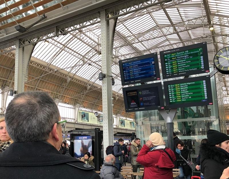 En raison de la grève ce 22 mars 2018, les transports seront perturbés - DR JdL