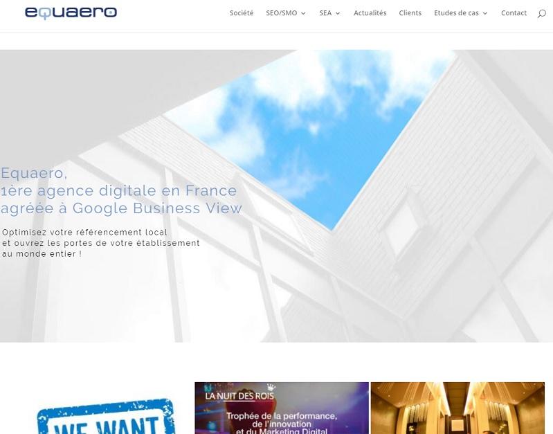 Equaero travaille avec de nombreuses marques du secteur, comme Maeva, Fastbooking, Appart City, Leclerc Voyages, pour développer leur activité online - DR : Capture d'écran Equaero