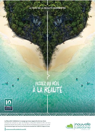 La Nouvelle-Calédonie lance une campagne de publicité multicanal