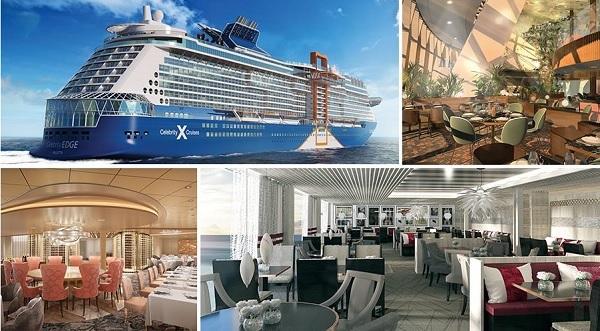 Le bateau accueillera 29 restaurants et 11 bars - Crédit photo : Celebrity Edge