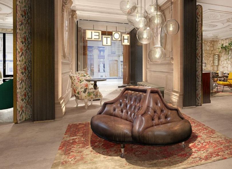 L'hôtel le Bellaval ouvre ses portes en mai 2018 - DR Le Bellaval