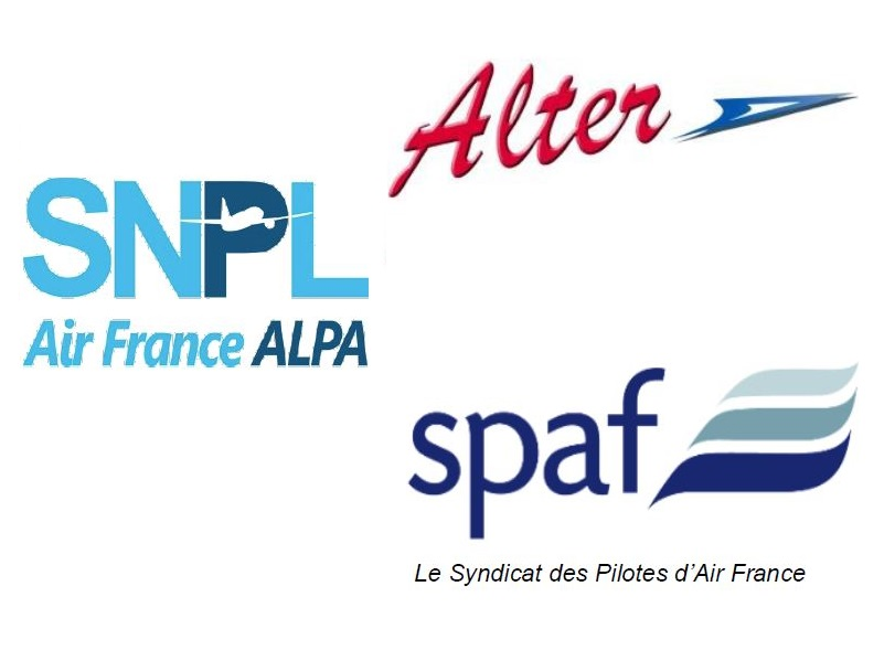 nouvel appel à la grève de l'intersyndicale pilote Air France