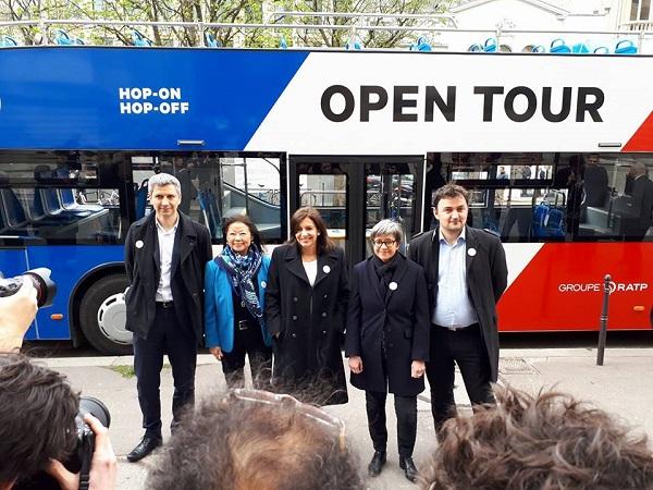 RATP met en circulation son premier bus à impériale 100% électrique