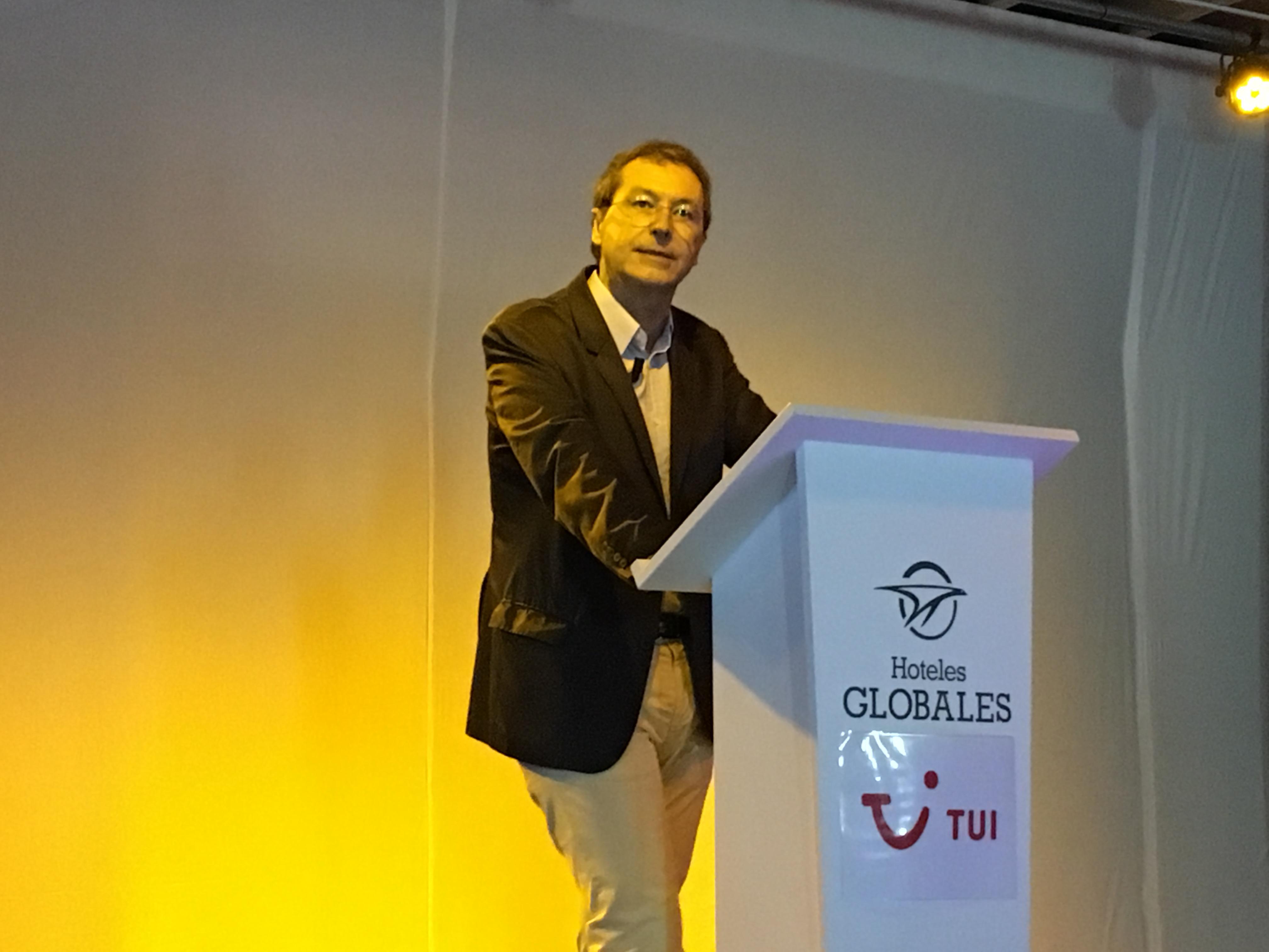Pascal de Izaguirre, président directeur général de TUI France. - CL