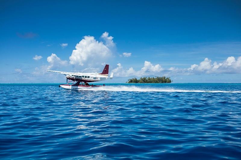 Tahiti Air Charter dispose d'une flotte de deux Cessna 208 Caravan d'une capacité de 8 passagers - Photo Tahiti Air Charter