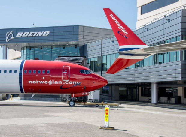 Le groupe qui détient British Airways, Iberia, Aer Lingus, Vueling et Level.com a indiqué avoir déjà pris une participation de 4.61% dans Norwegian  - photo Facebook Norwegian
