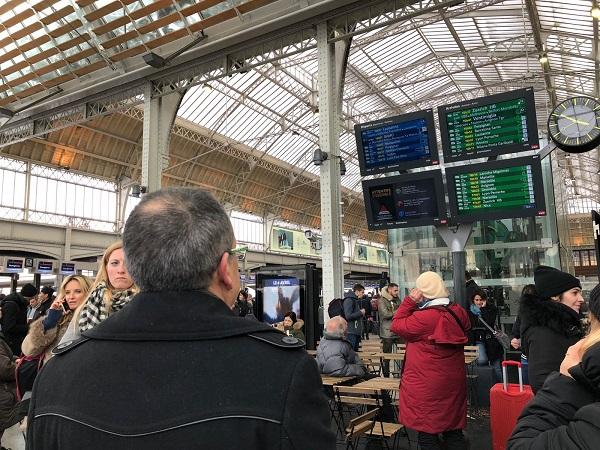 Prévisions de trafic SNCF pour la journée du 14 avril 2018 - Crédit photo : JD