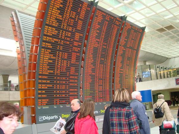 Grève Air France, 45% des vols long-courriers non assurés, le mardi 17 avril 2018 - Crédit photo : CE