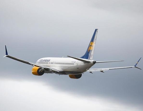 Boeing 737 MAX 8 d'Icelandair - Photo Instagram Icelandair
