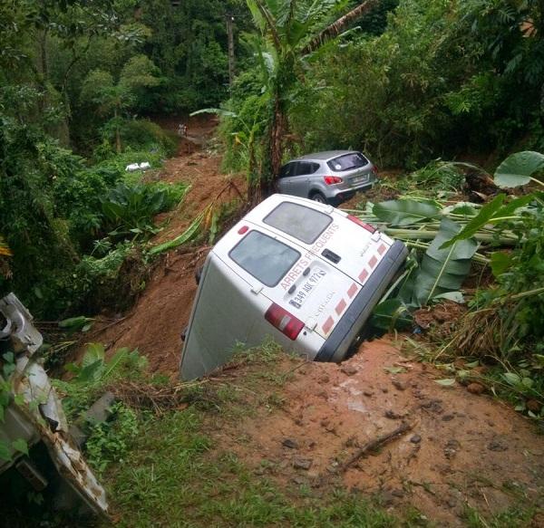 Des coulées de boue ont eu lieu en Martinique - Crédit photo : compte Twitter @prefet972