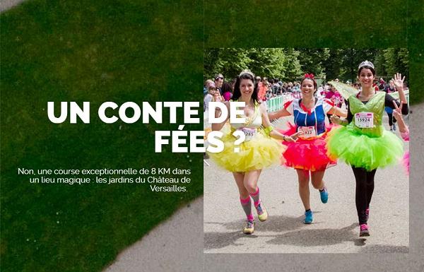La course des Princesses propose un parcours de 8 km dédiée aux femmes - DR
