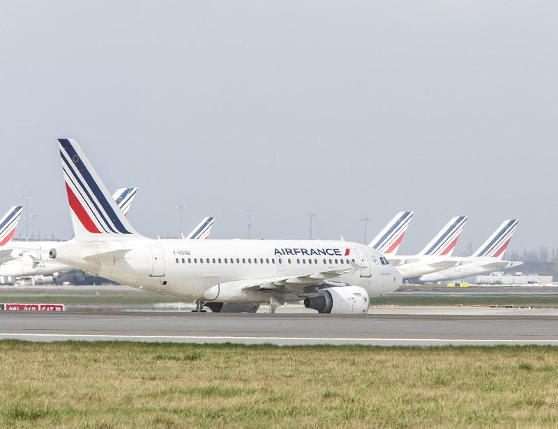Grève Air France : Un préavis a été déposé pour les 23 et 24 avril prochains, après 9 jours de grève. Le syndicat des pilotes menacerait de durcir le mouvement. - Photo LEROUX Christophe AF