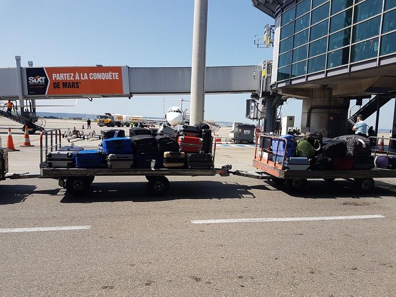 la gestion des bagages s'améliore de jour en jour - photo TourMaG.com C.E