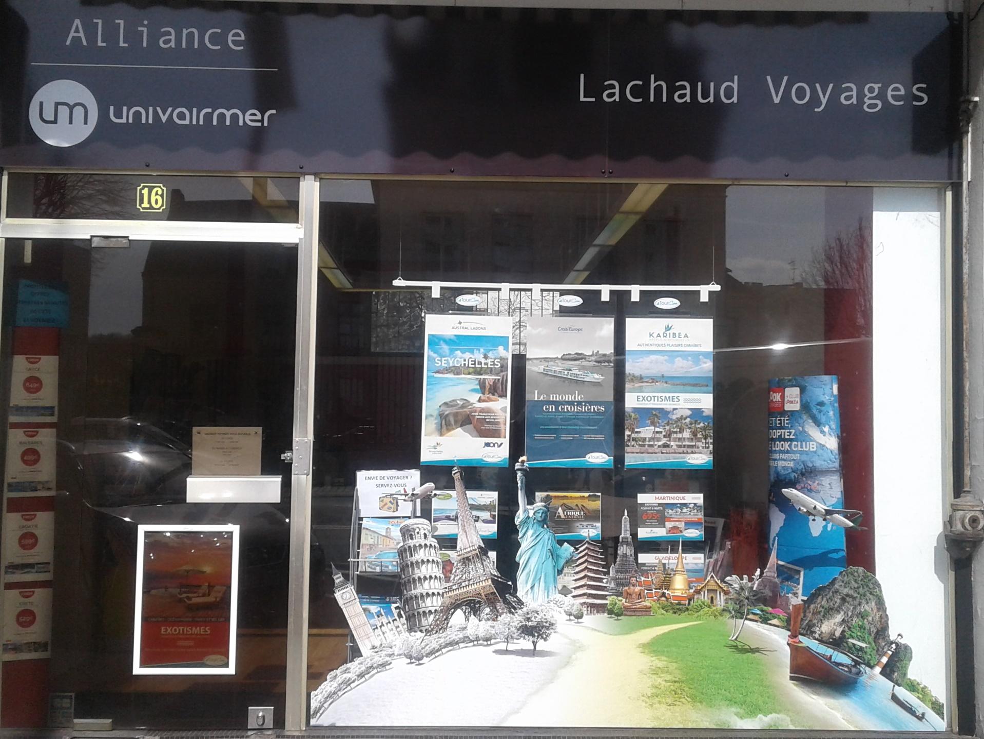 L'agence Lachaud Voyages à Périgueux a choisi l'enseigne Univairmer - Photo DR