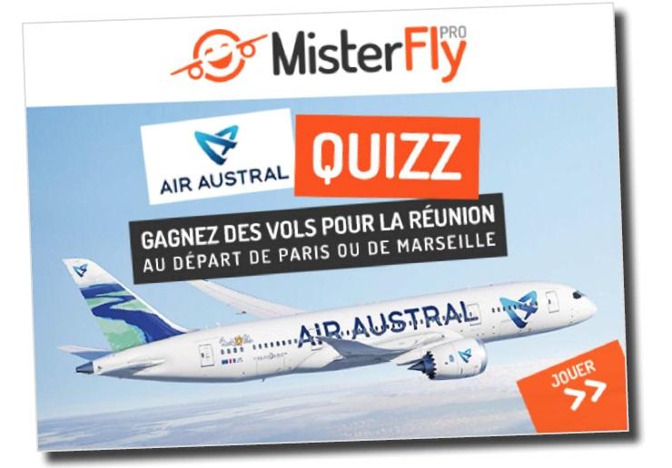 Jeu MisterFly - Air Austral - DR