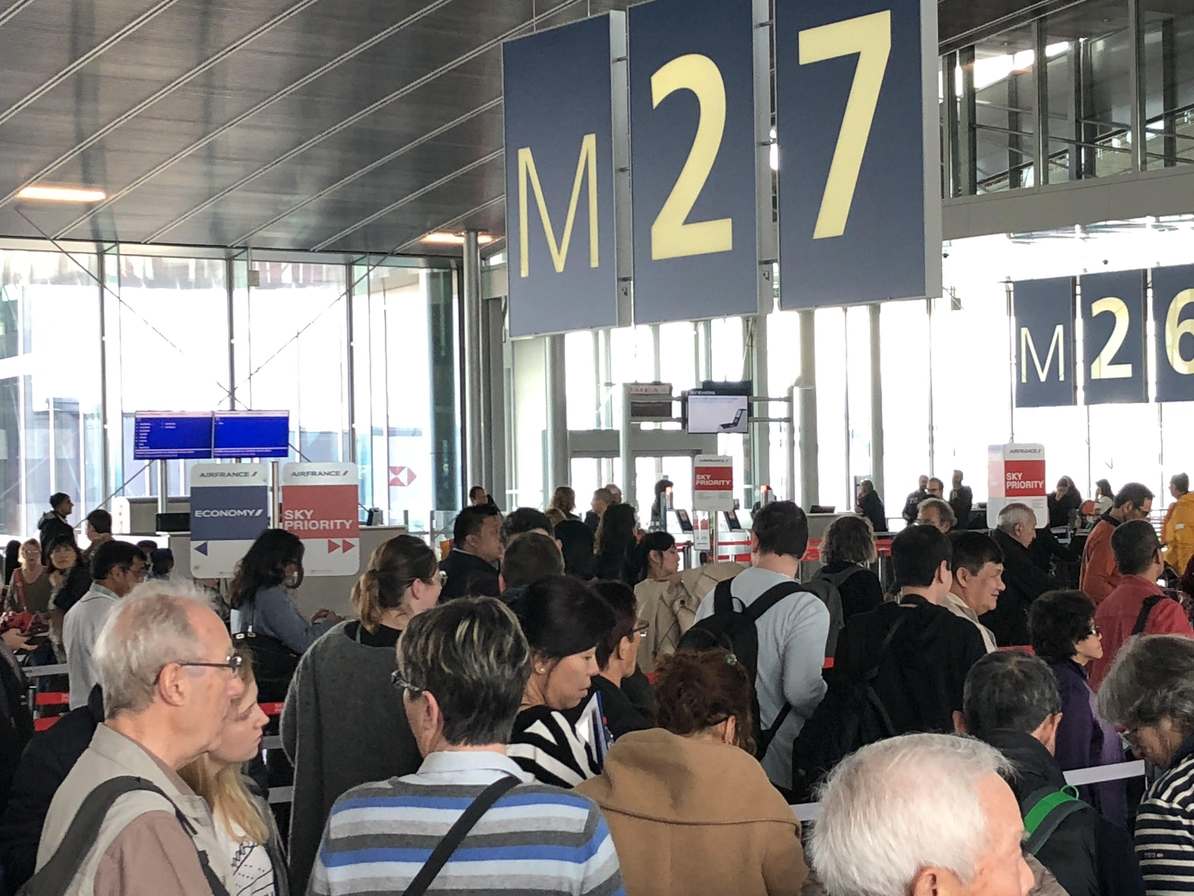 Encore deux journées de galère en prévision pour les passagers d'Air France... /photo JDL