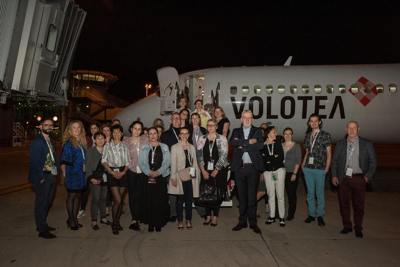 Marseille : Volotea fête l'ouverture de sa base avec les agents de voyages