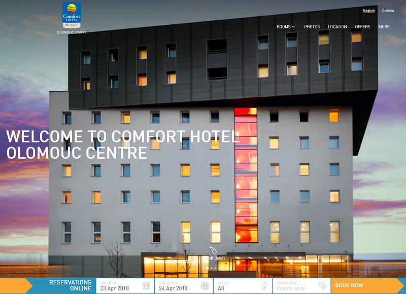 Comfort Hotel Olomouc Center - DR : Choice Hotels