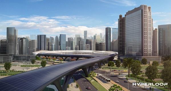 Hyperloop TT a annoncé la signature pour la mise en service de la première ligne commerciale entre Abu Dhabi et Dubaï - Crédit photo : HyperloopTT