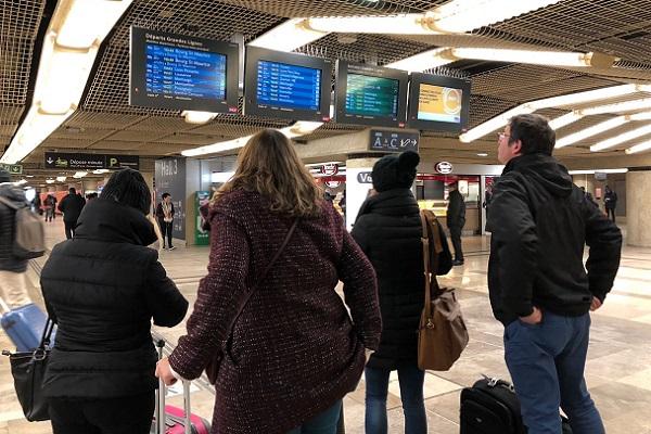 Chez GoEuro les réservations des billets de train ont baissé de 20% depuis le début du mouvement - Crédit photo : JDL