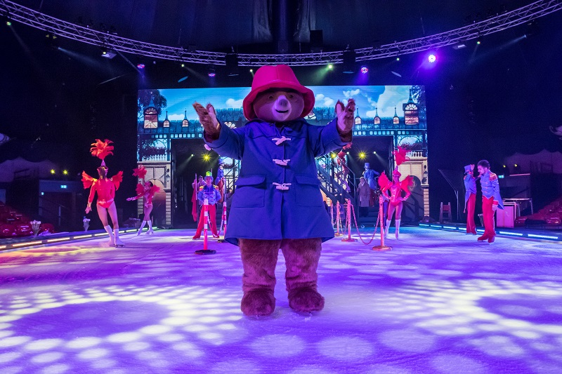 Nouveau spectacle: Paddington on ice