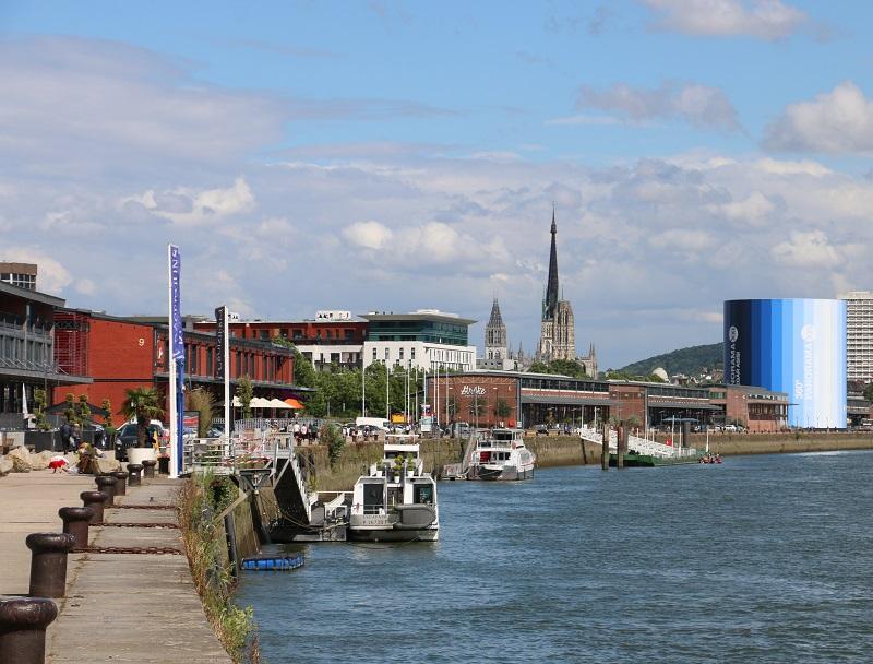 Les quais de Seine sont l'endroit le plus agréable pour pédaler et terminer en beauté l'itinéraire cycliste - DR : J.-F.R.