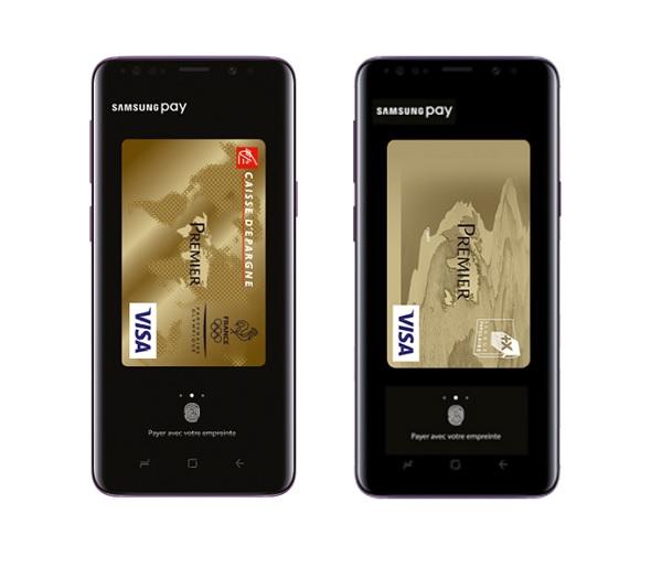 Samsung Pay est accessible depuis les smartphones des clients du groupe BPCE - Crédit photo : BPCE