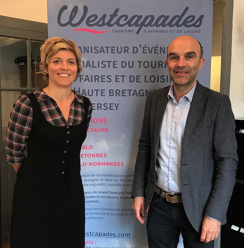 Géraldine et Marc Le Meur - DR : Westcapades