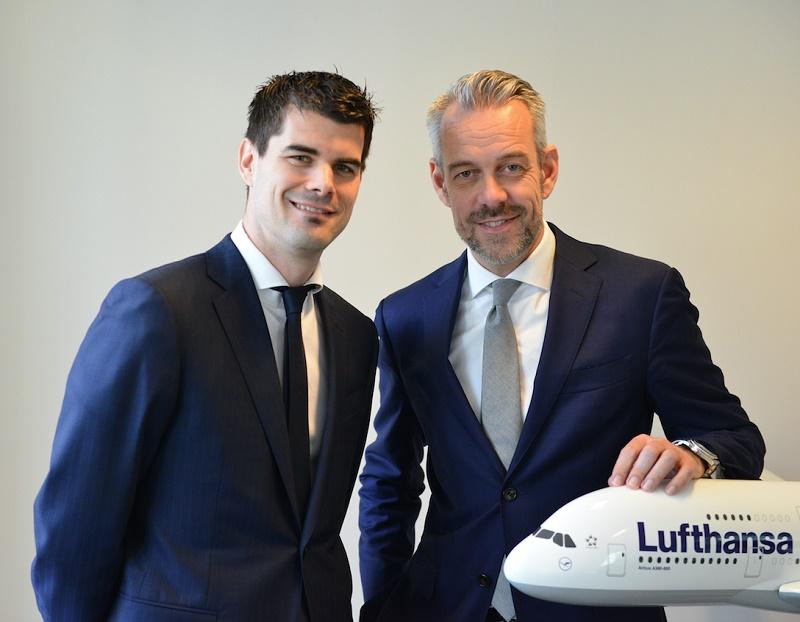 Lufthansa Group : Thadée Nawrocki et Michael Gloor - Photo DR Lufthansa