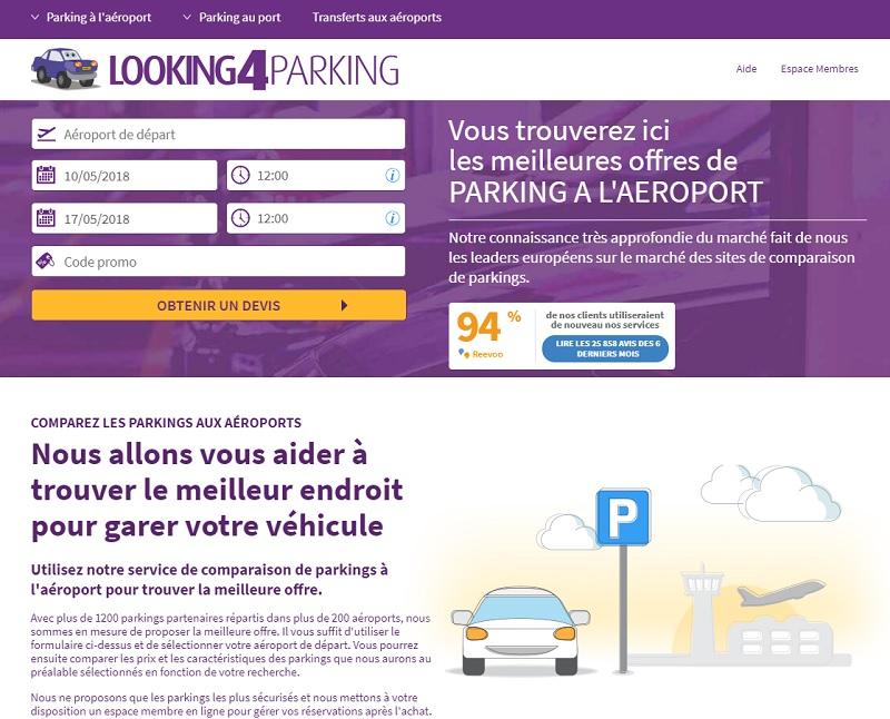 DR : Capture d'écran Looking4.com