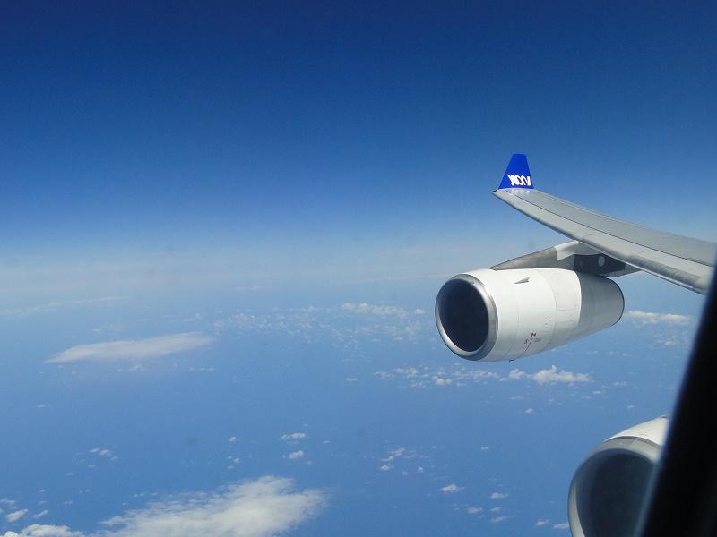 La liaison Paris - Fortaleza est opérée en A340. C'est une phase de transition avant l'arrivée attendue des Airbus A350 qui entreront en service fin 2019 - Photo CH