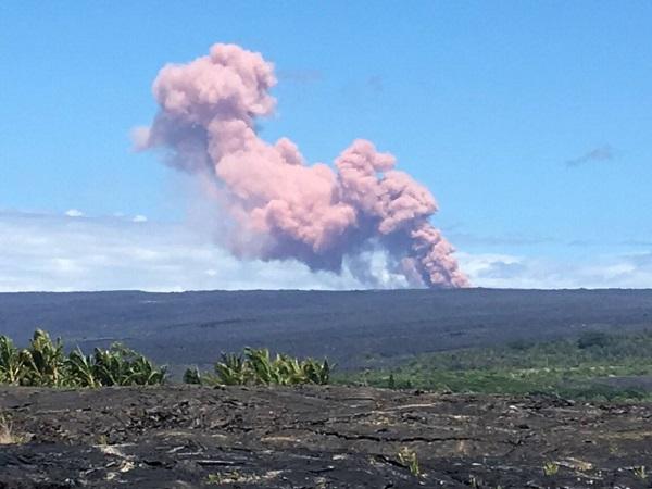 Le volcan Kīlauea est entré en activité depuis jeudi 3 mai 2018 - crédit photo : le Parc national des volcans de Hawaï