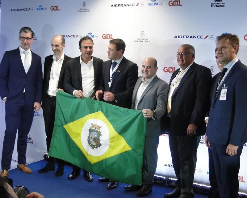 Inauguration officielle du hub de Fortaleza au Brésil - Photo C. Hardin