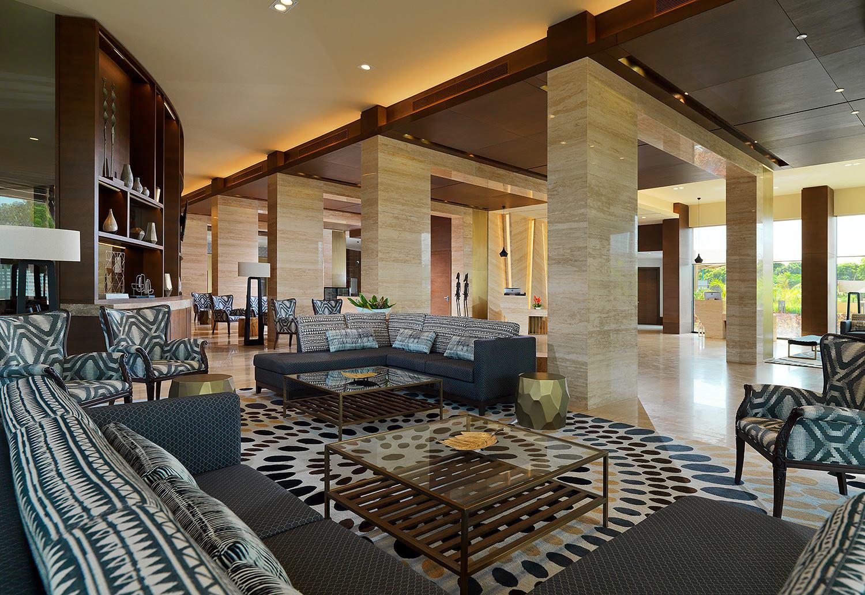Le lobby de l'hôtel Sheraton Bamako au Mali - DR Facebook Sheraton Bamako