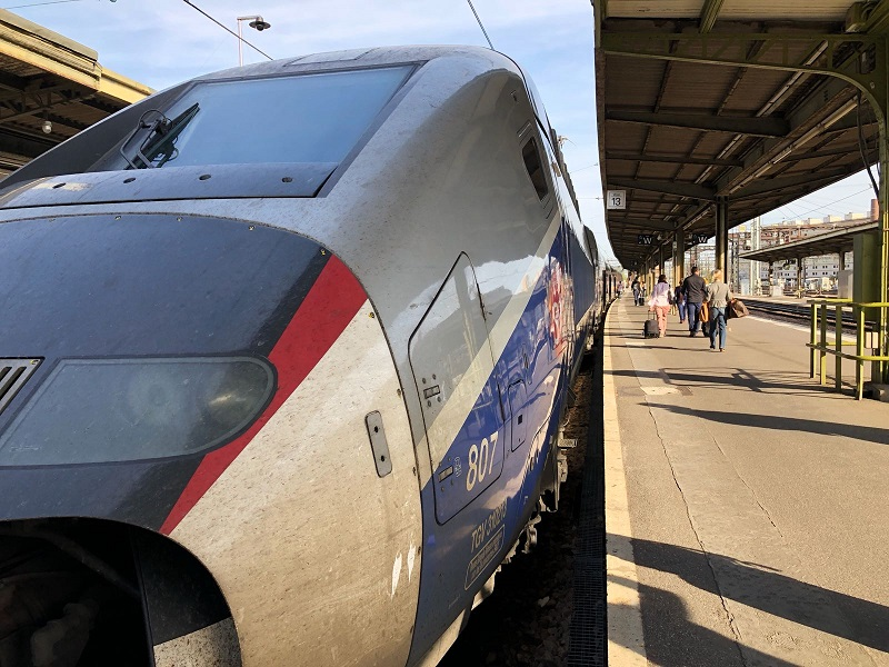 La compagnie prévoit la circulation de 7 trains sur 10 pour Transilien et 1 train sur 2 pour TER. Sur les trajets longue distance, la compagnie a programmé 3 TGV sur 5 et 3 trains sur 10 pour Intercités. - Photo JDL TM