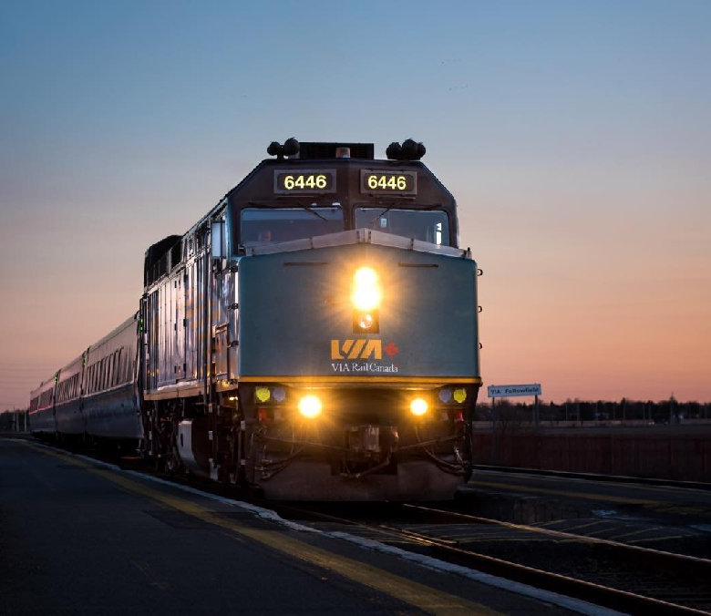 Via Rail a transporté 4,4 millions de passagers en 2017 - Photo Instagram