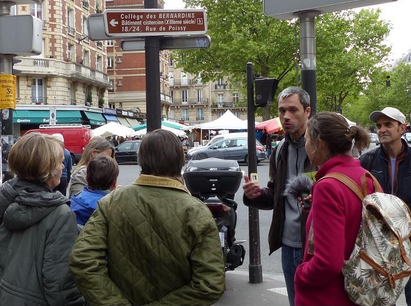 Laurent Guignon fait découvrir Paris sous un angle durable - Crédit Photo : radio kikeriki
