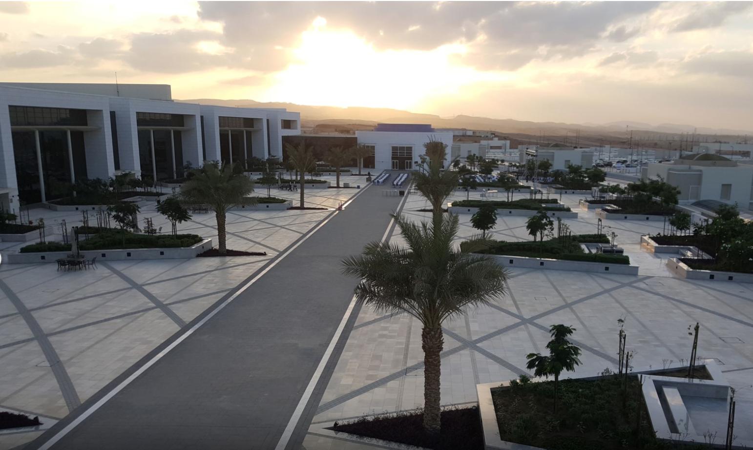 La deuxième phase des travaux du nouveau centre des congrès d'Oman s'est terminée en avril © Oman convention & exhibition center