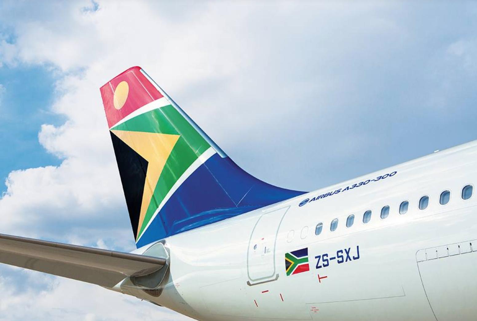 334 millions d'euros ont été promis une nouvelle fois par Pretoria pour aider la SAA © Fly SAA FB