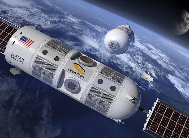 La station Aurora, qui gravitera en orbite terrestre basse à plus de 320 km d'altitude, accueillera dès 2022 ses premiers passagers. - Photo Orion Span Facebook