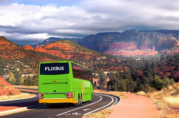 Flixbus, après Paris et Berlin le transporteur s'implante à Los Angeles, Phoenix, ou Las Vegas - Crédit photo : Flixbus