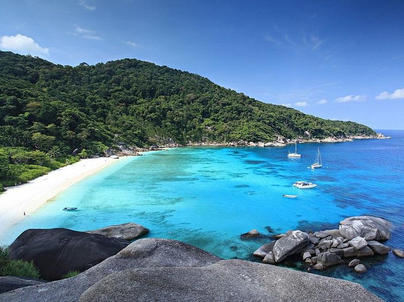 Le parc national Phang Nga et l'île Mu Ko Similan en Tahïlande est l'un des paradis de plongeurs - Photo KOSIN SUKHUM / wikicommons