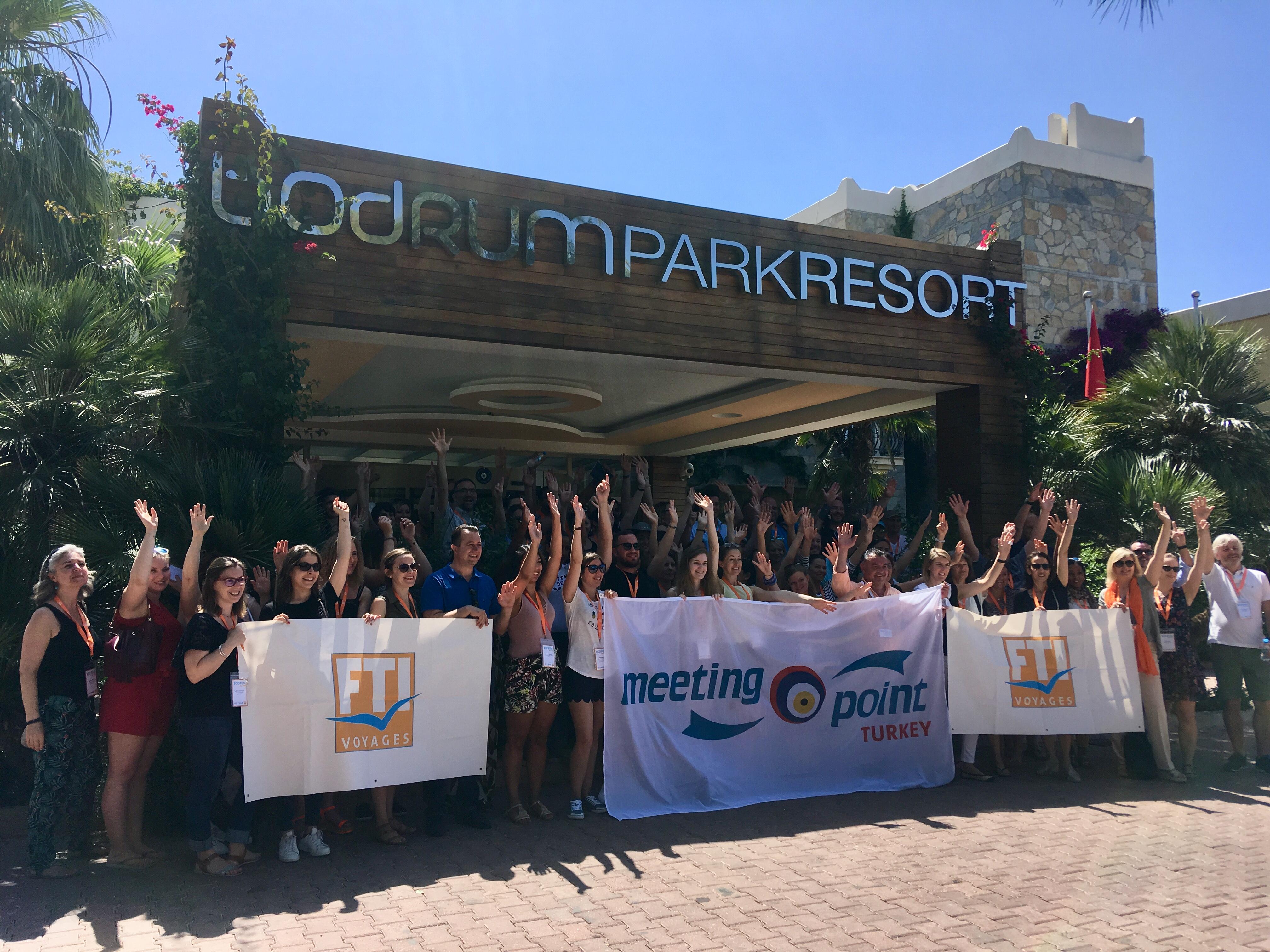 Les 70 agents de voyages présents à l'éductour en Turquie ont visité l'hôtel Bodrum Park Resort, futur club FTI. - CL
