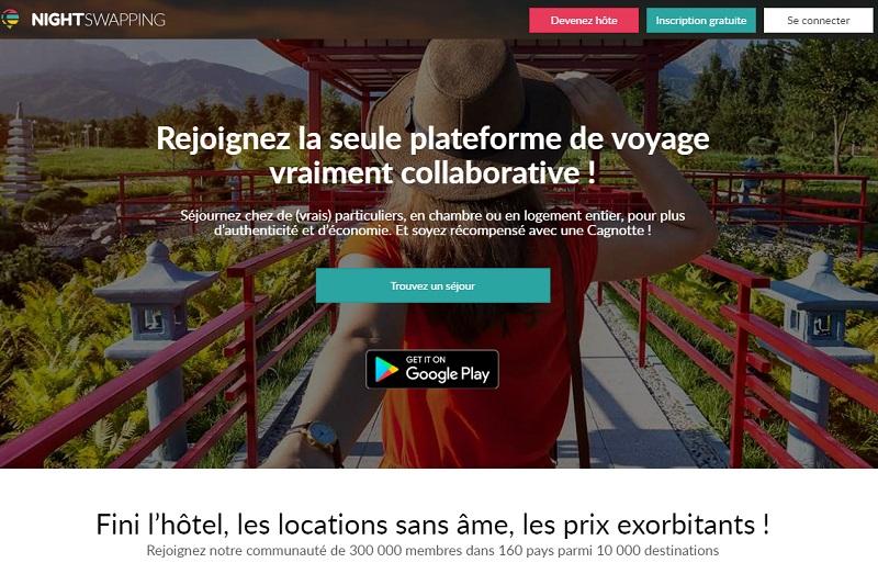 NightSwapping lance son application mobile sur Google Store et prochainement sur AppStore - DR