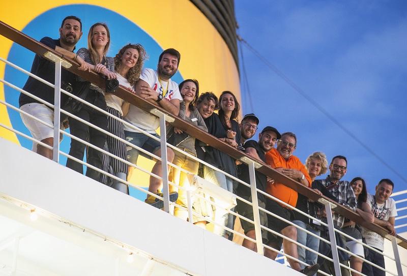 100 photographies « volées »]b par le photographe Oliviero Toscani à bord du Costa Pacifica seront exposées à Gênes - DR Oliviero Toscani