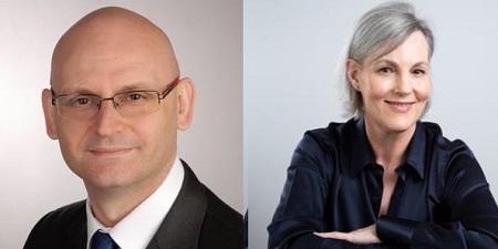 Luca Zuccoli et Flic Howard-Allen - DR