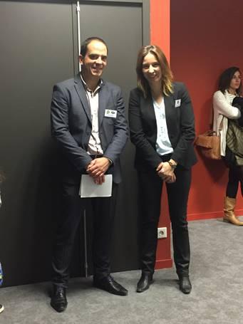 Antoine Bretin, Directeur des séjours jeunes et Céline Bonnet responsable des RH chez Verdié Voyages - DR TourMaG.com - CL